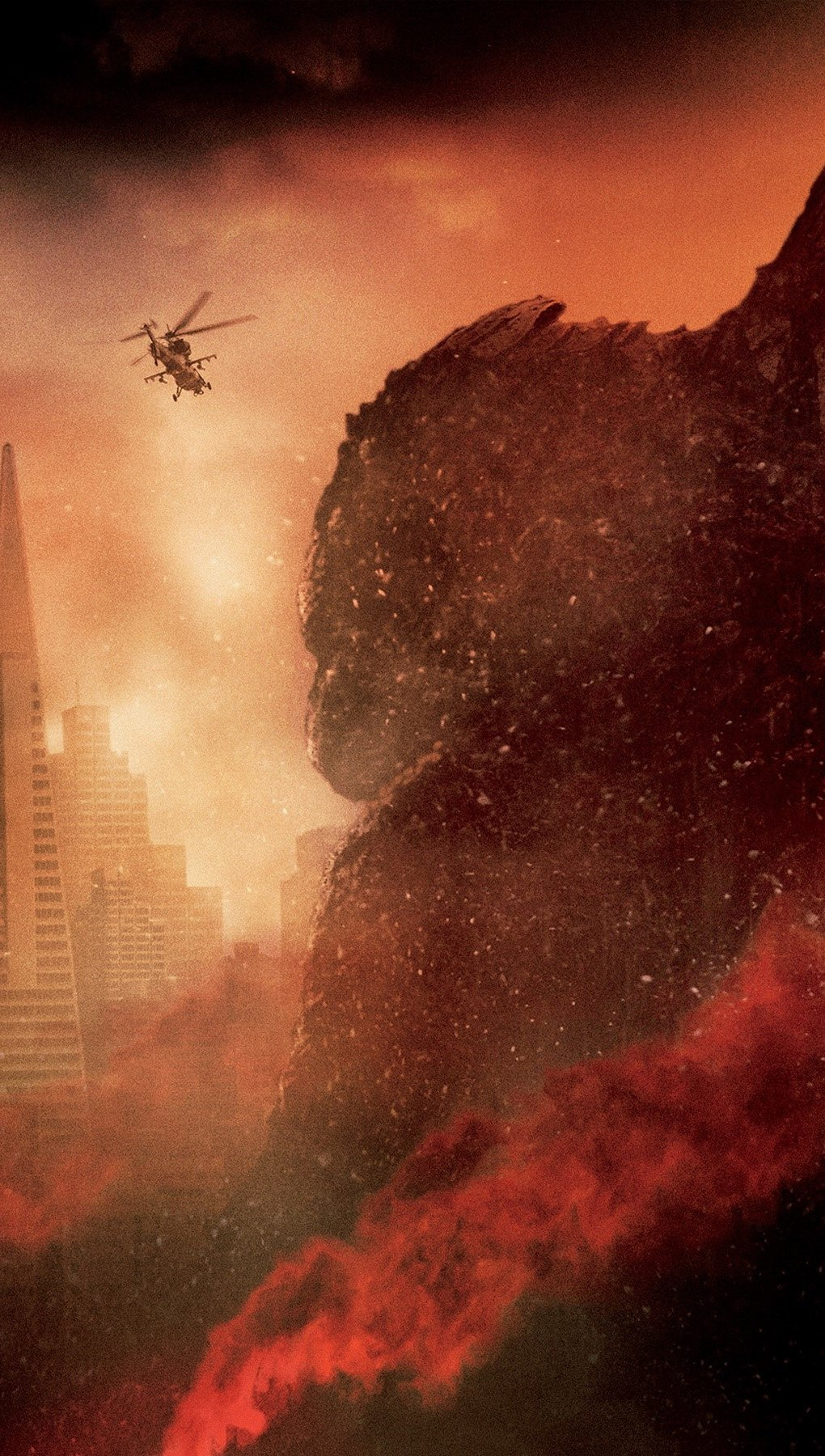 Wallpaper Godzilla Vertical
