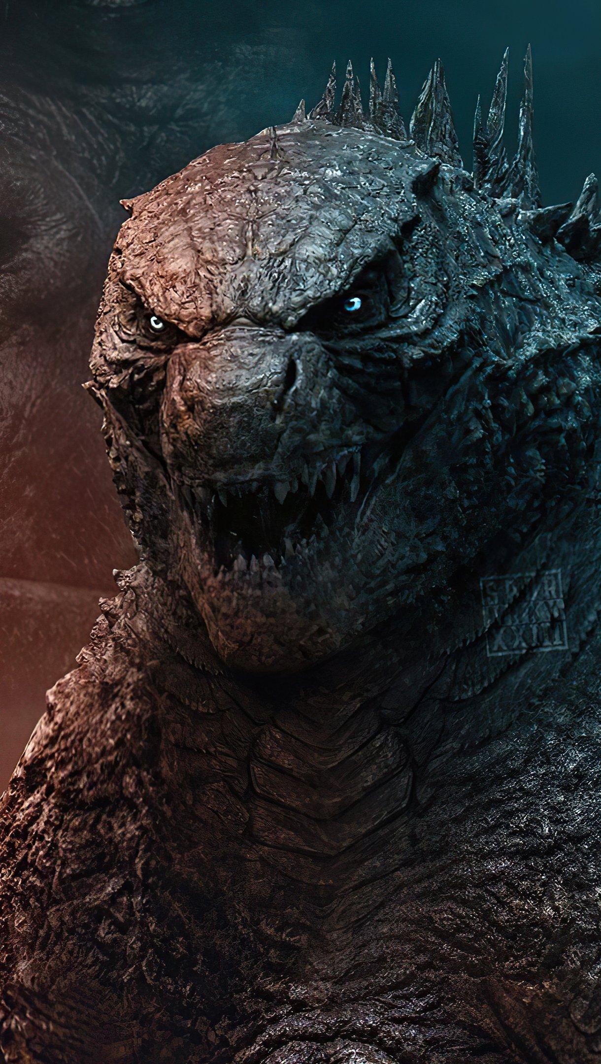 Fondos de pantalla Godzilla contra King Kong 2021 Vertical