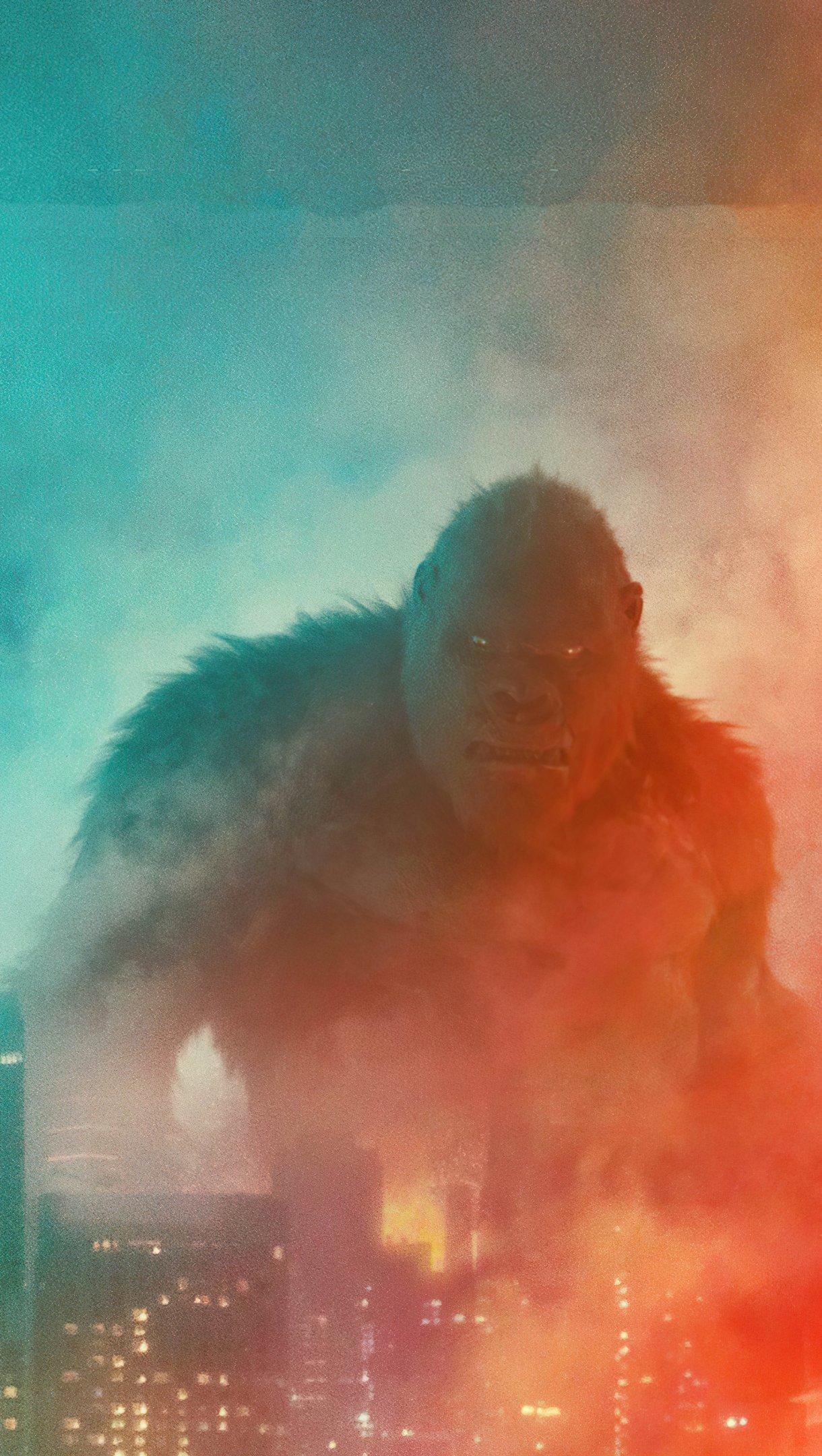 Fondos de pantalla Godzilla vs Kong Vertical