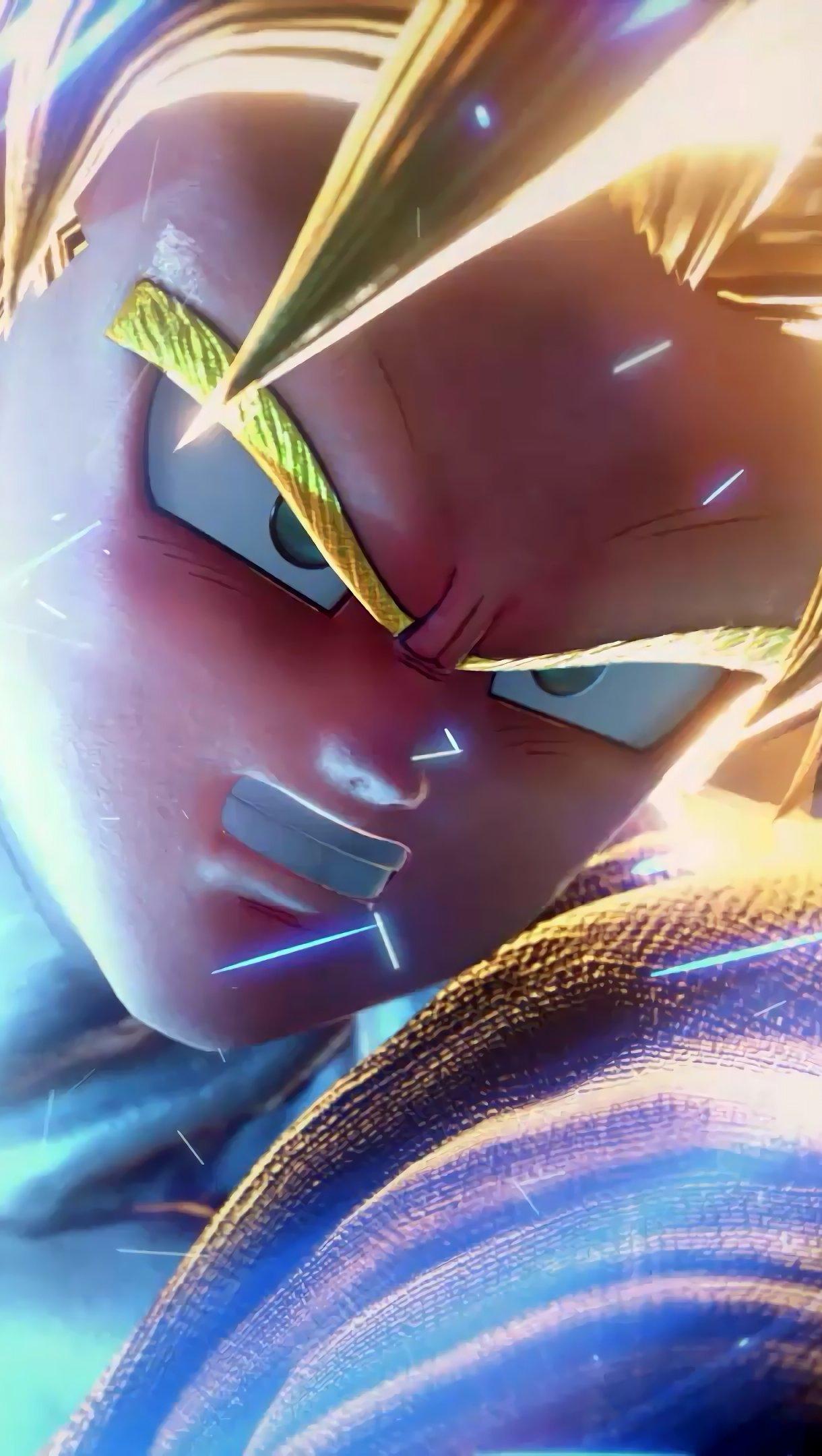 Fondos de pantalla Goku de Dragon Ball en Jump Force Vertical