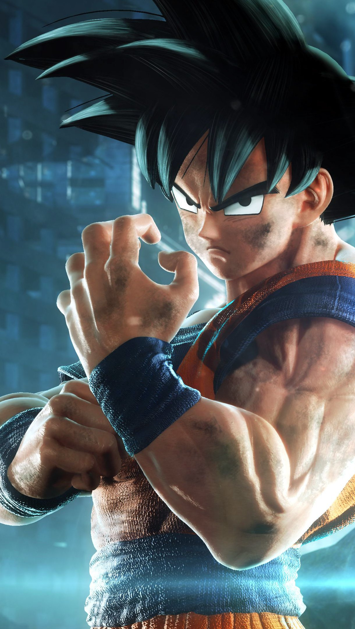 Fondos de pantalla Goku de Dragon Ball en Jump Force Vertical
