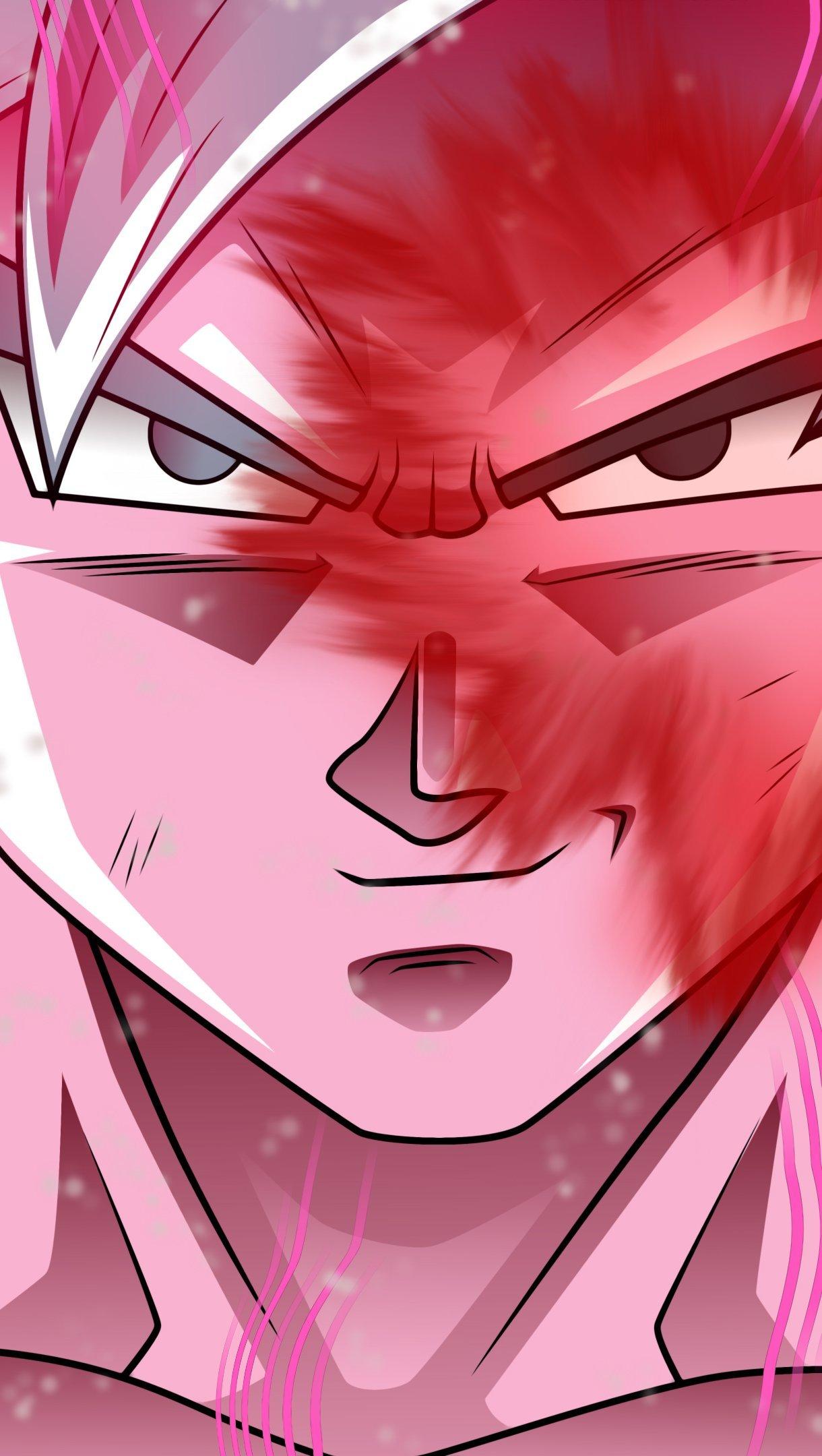 Anime Wallpaper Goku from Dragon Ball Super Vertical