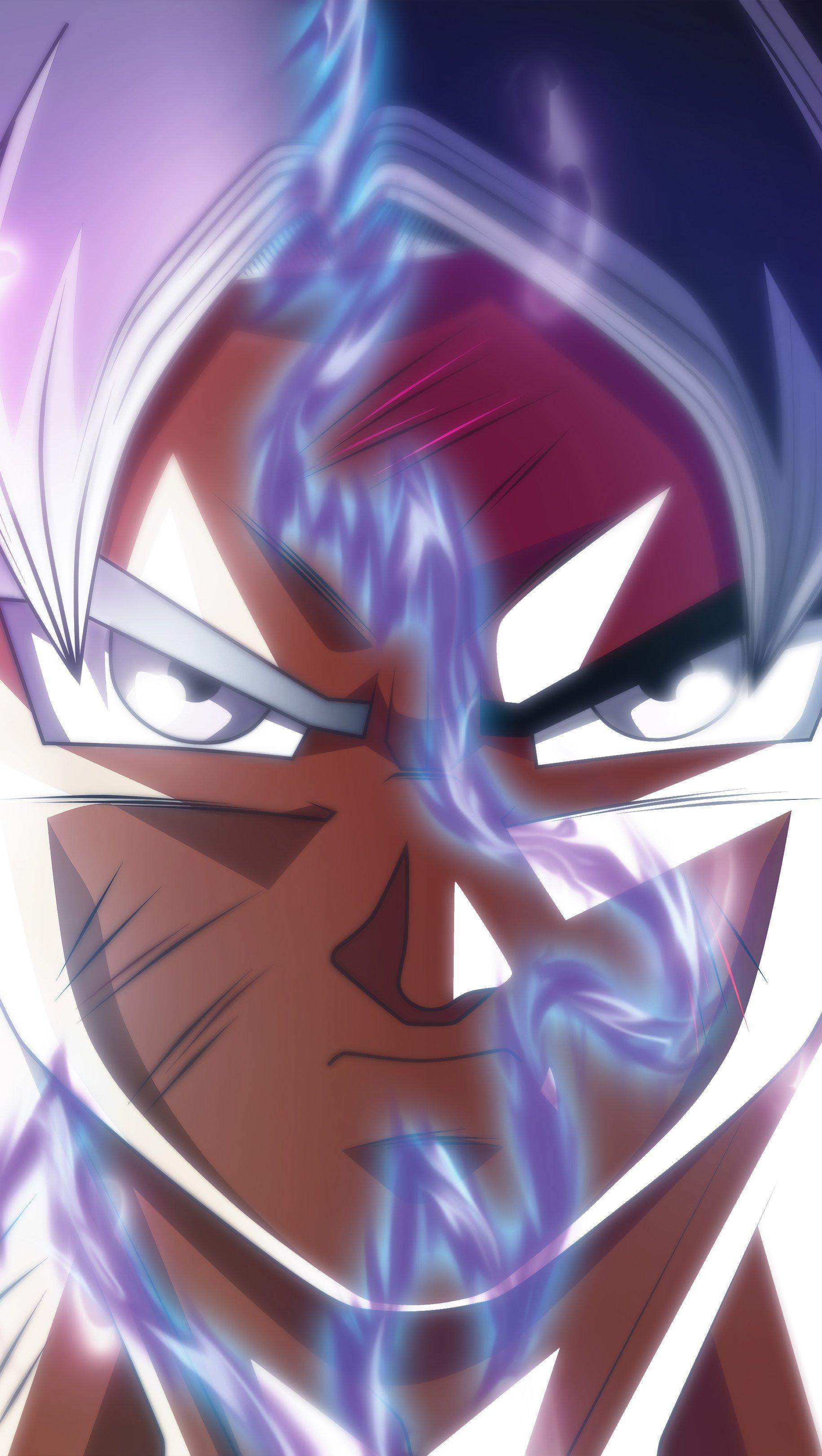 Fondos de pantalla Anime Goku Ultra Instinct Transformación Dragon Ball Super Vertical