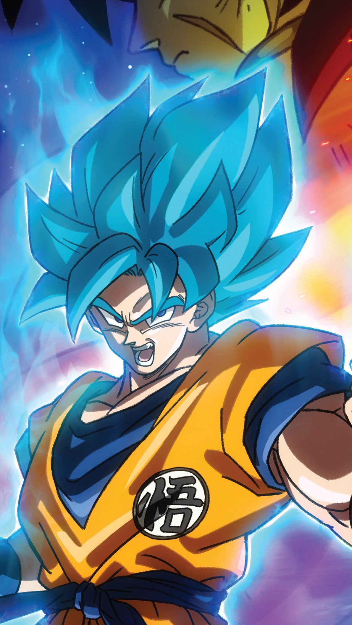 Goku And Vegeta In Dragon Ball Super Broly Movie Anime Wallpaper Id 4544