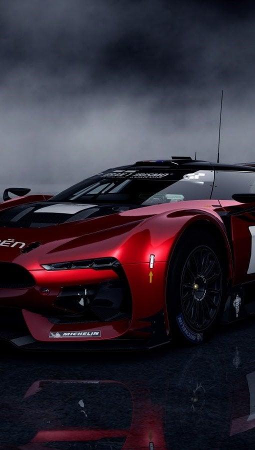 Wallpaper Gran Turismo 5 Citroen GT Vertical