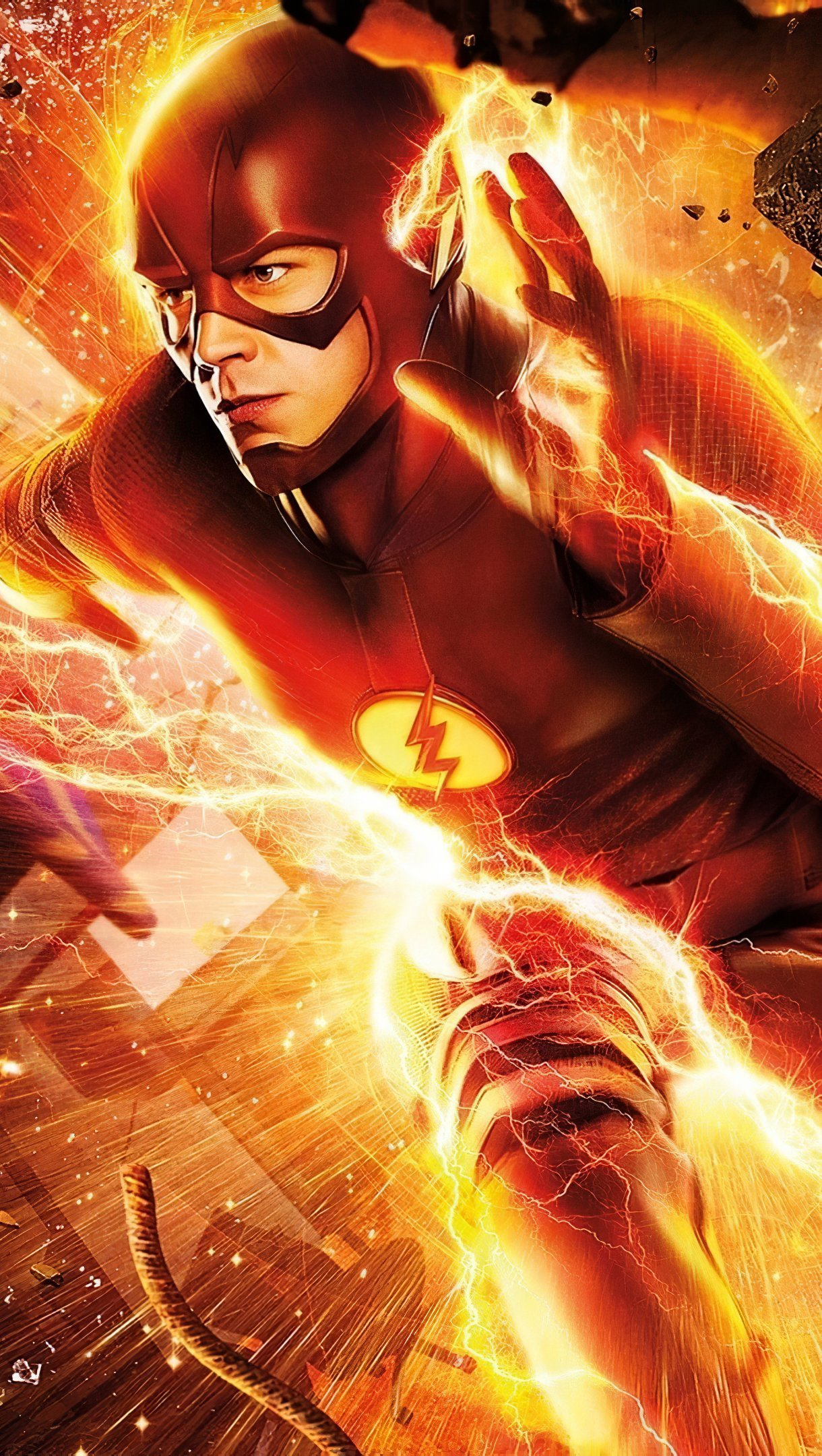 Wallpaper Gastin Gustin running as Flash Vertical