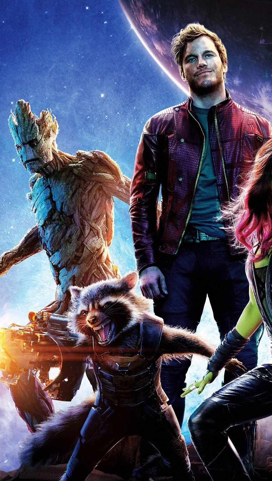 Wallpaper Guardians of the Galaxy Vertical