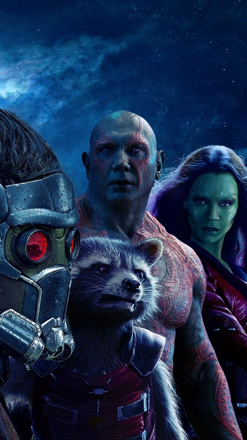 Wallpaper Guardians of the Galaxy Volume Two Vertical