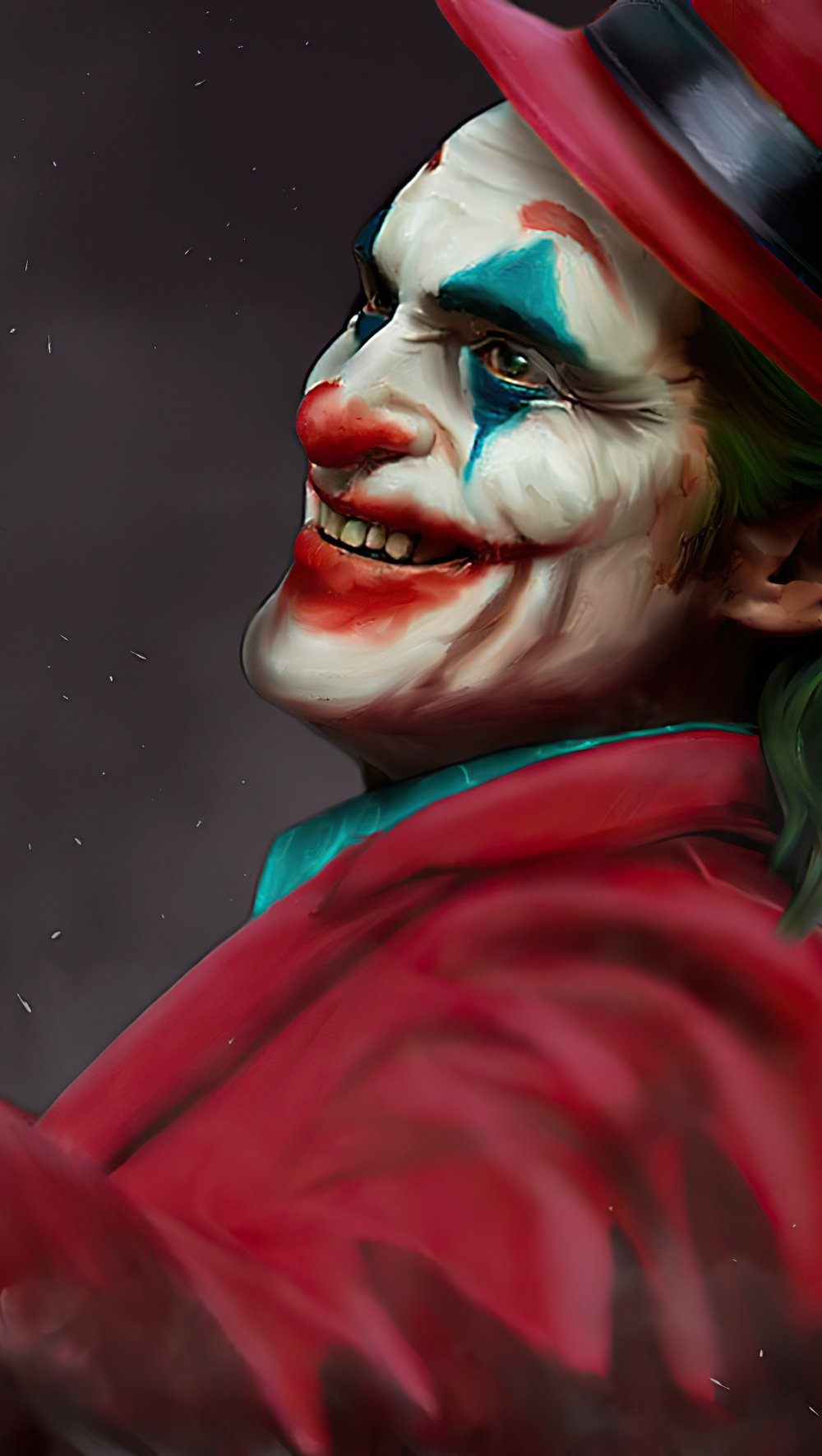 Wallpaper Joker with hat Vertical