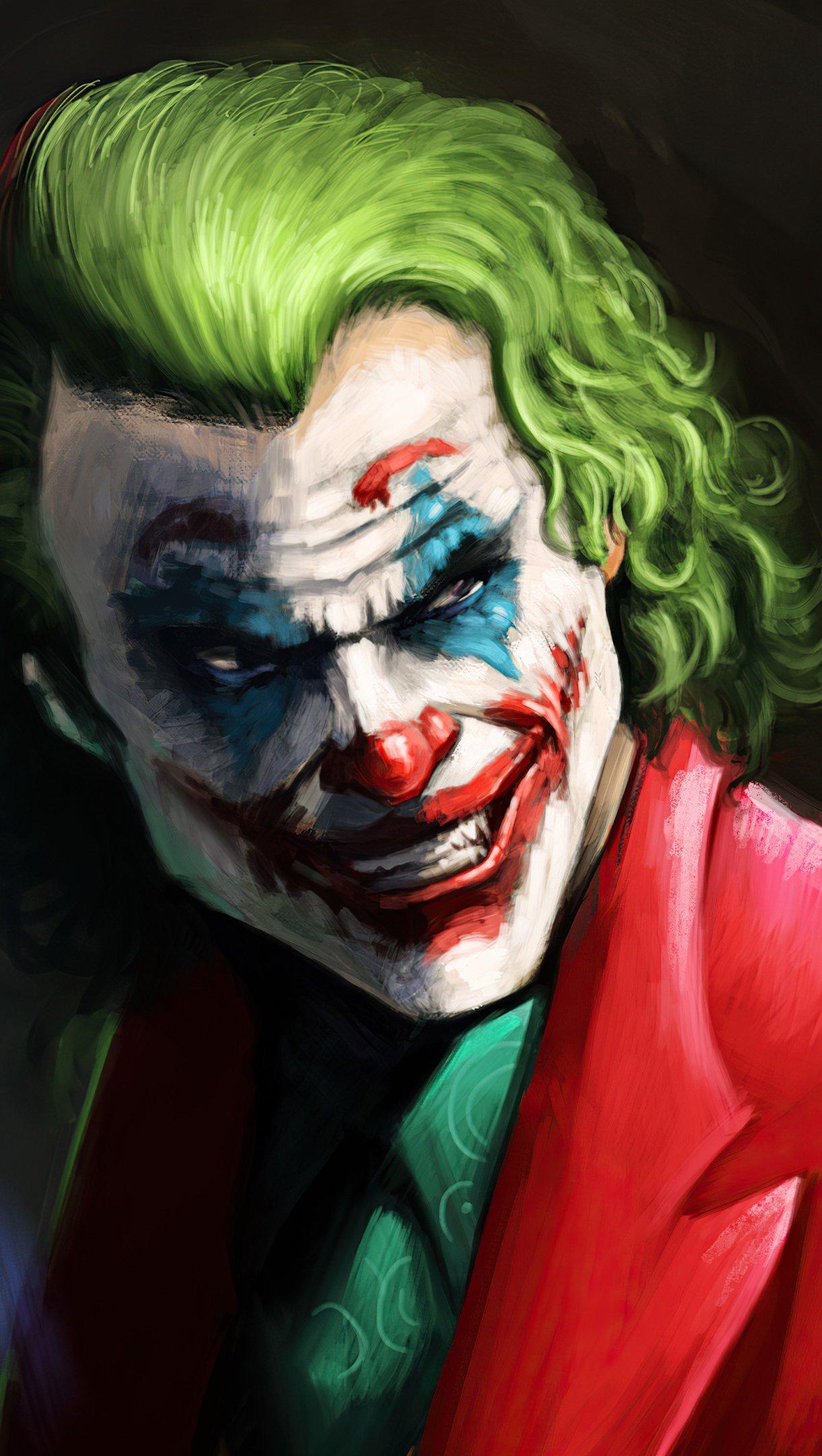 Wallpaper Joker Fanart 2021 Vertical
