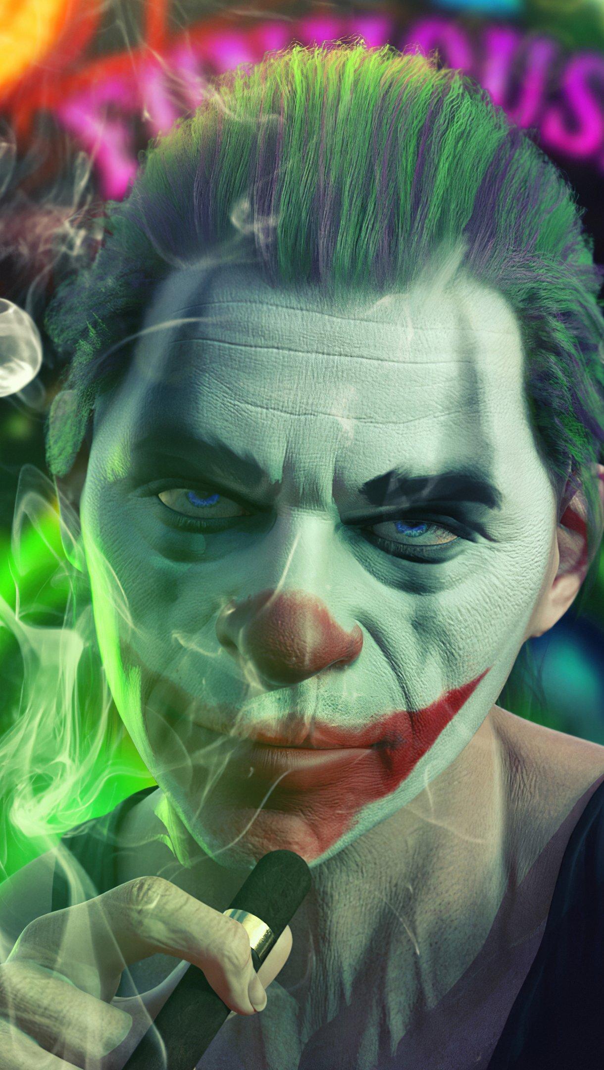 Joker smoking Wallpaper 4k Ultra HD ID:5172