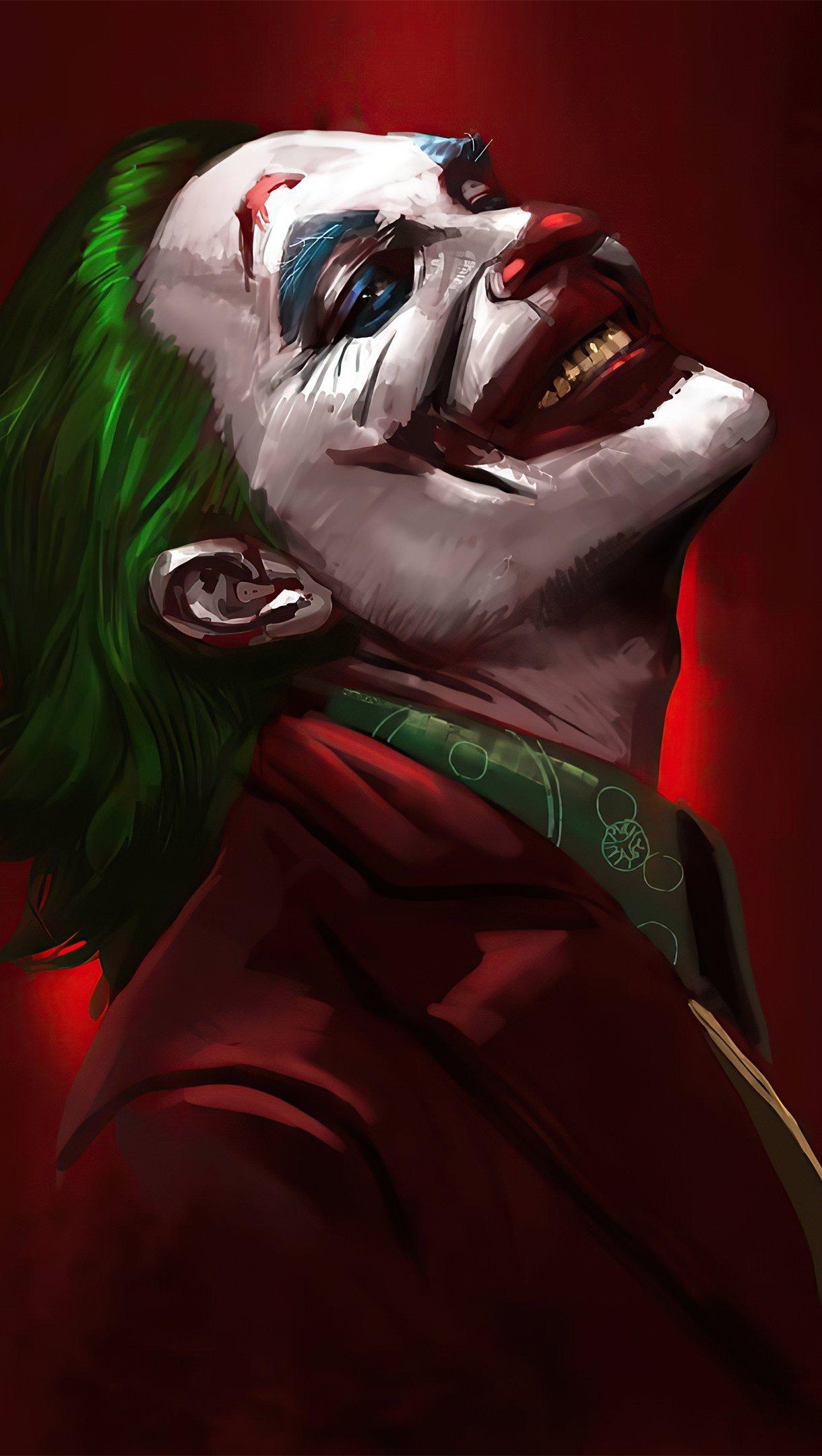 Wallpaper Joker smiling Vertical