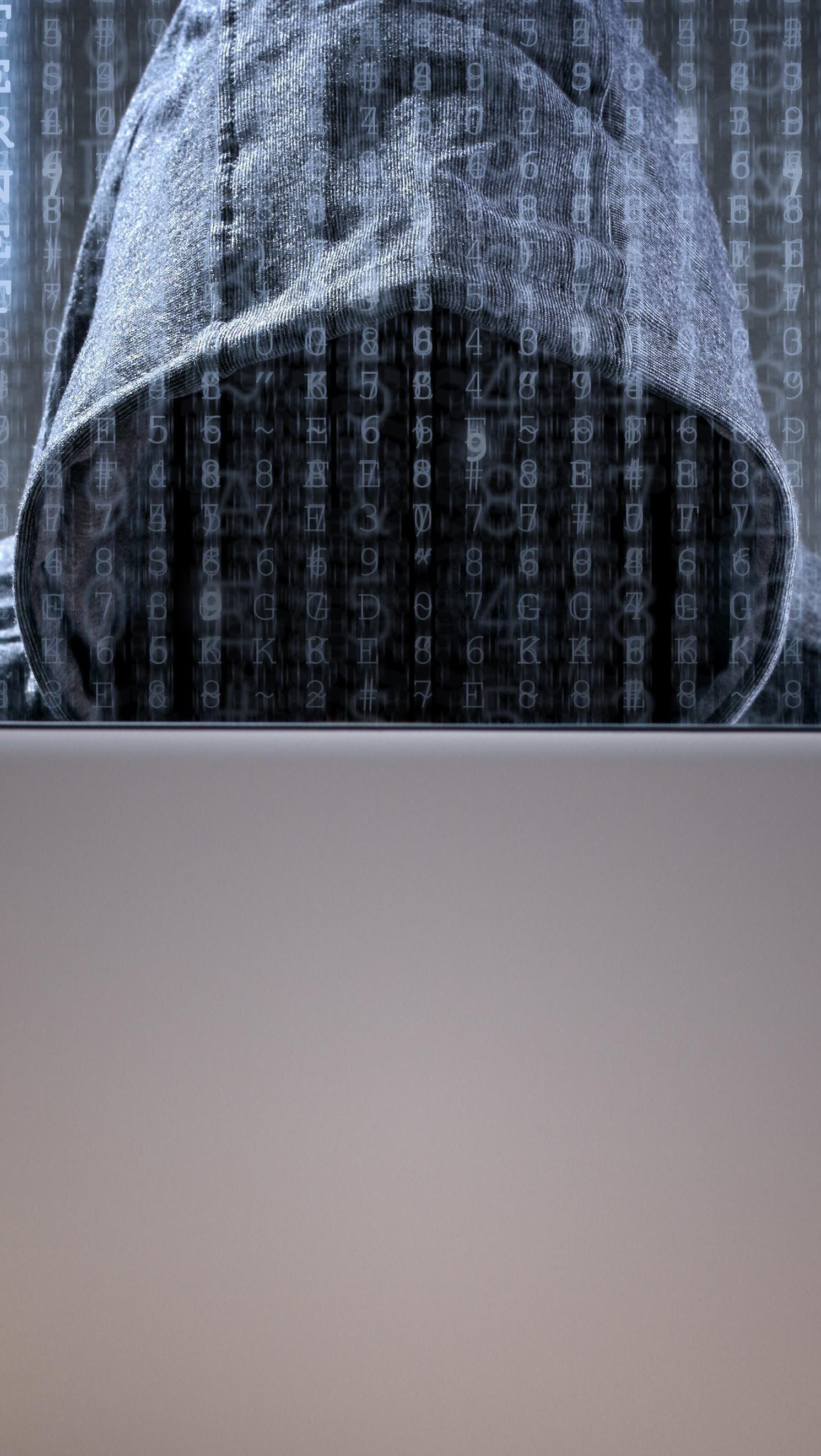 Fondos de pantalla Hacker Vertical