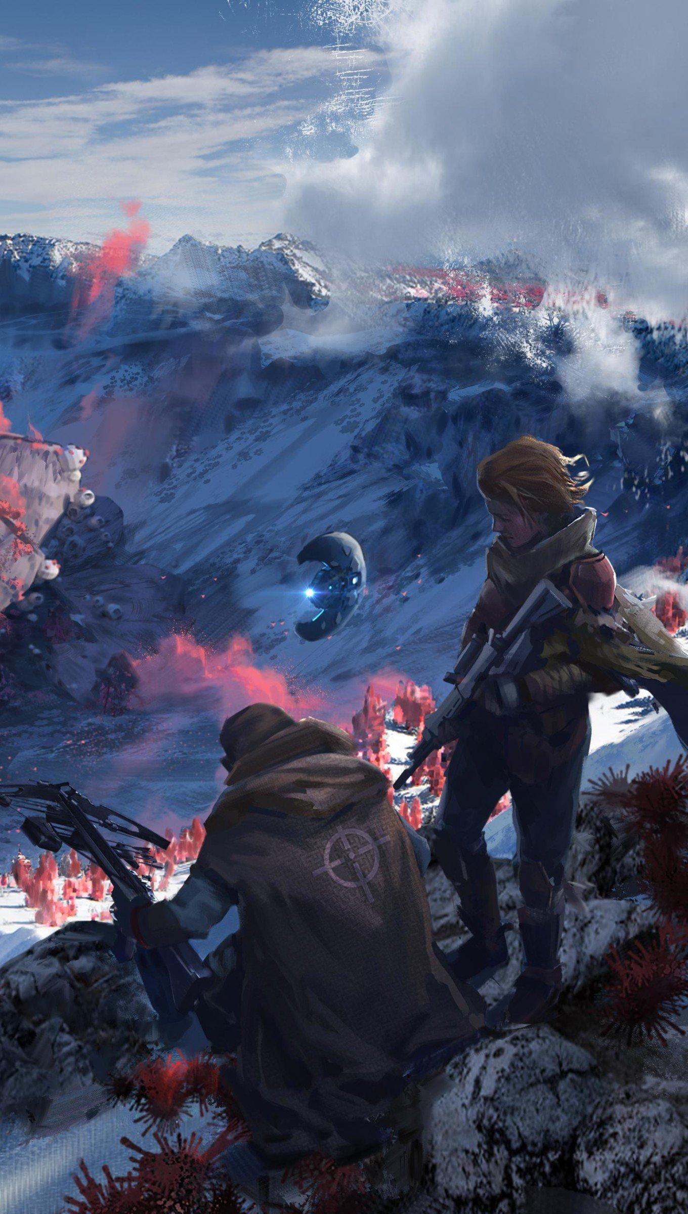 Fondos de pantalla Halo 5 Guardians Scavenger Vertical