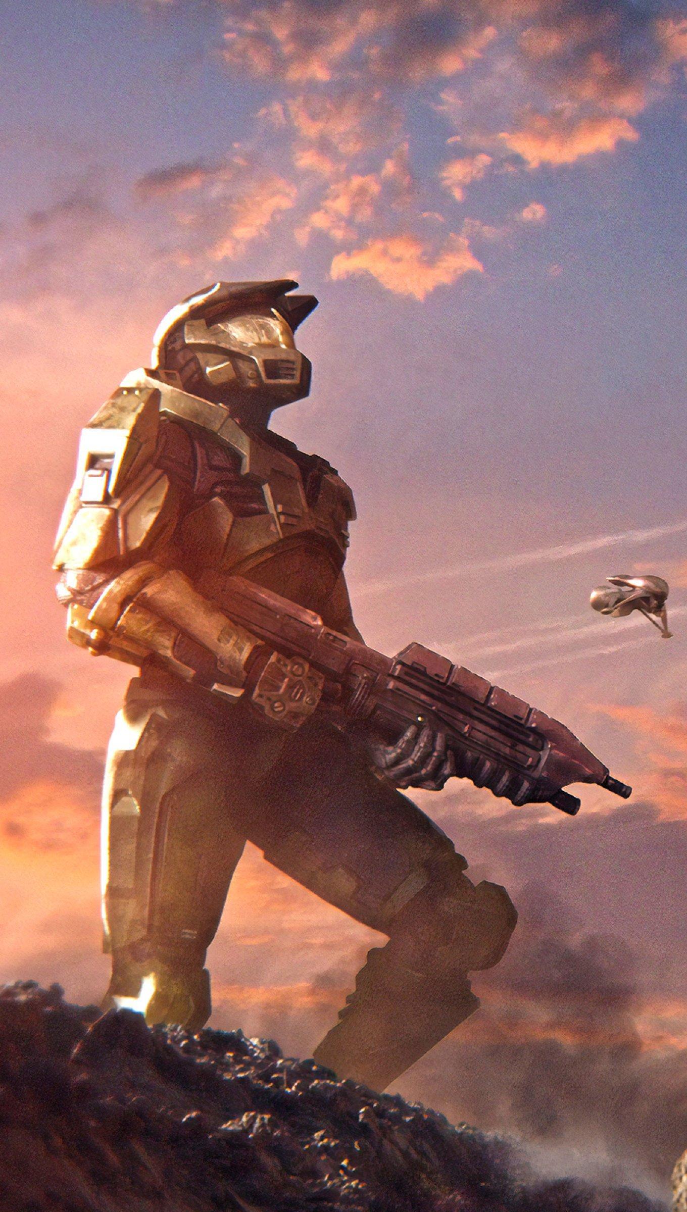 Fondos de pantalla Halo Battle For Alpha Vertical