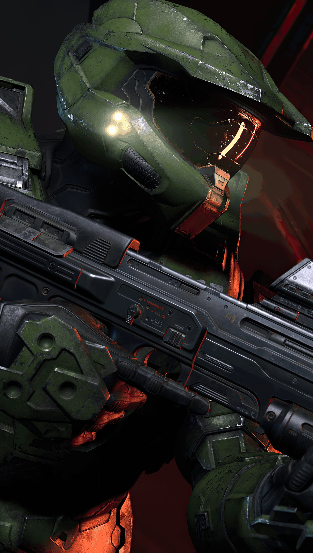 Wallpaper Halo Infinite 343 Industries Vertical