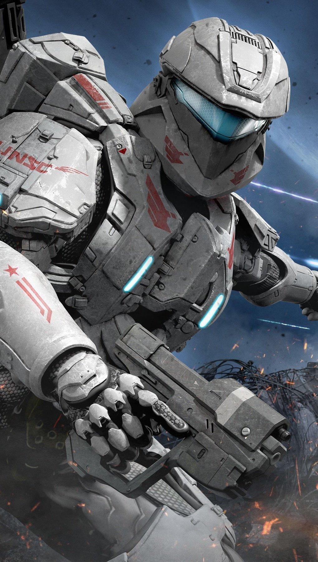Fondos de pantalla Halo Spartan Assault Vertical