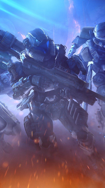 Fondos de pantalla Halo Spartans Vertical