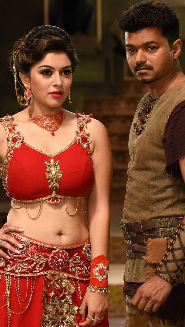 Wallpaper Hansika Vijay in Puli Vertical