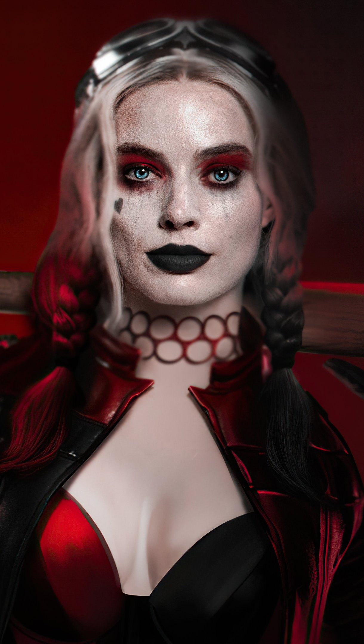 Wallpaper Harley Quinn from Suicide Squad Vertical