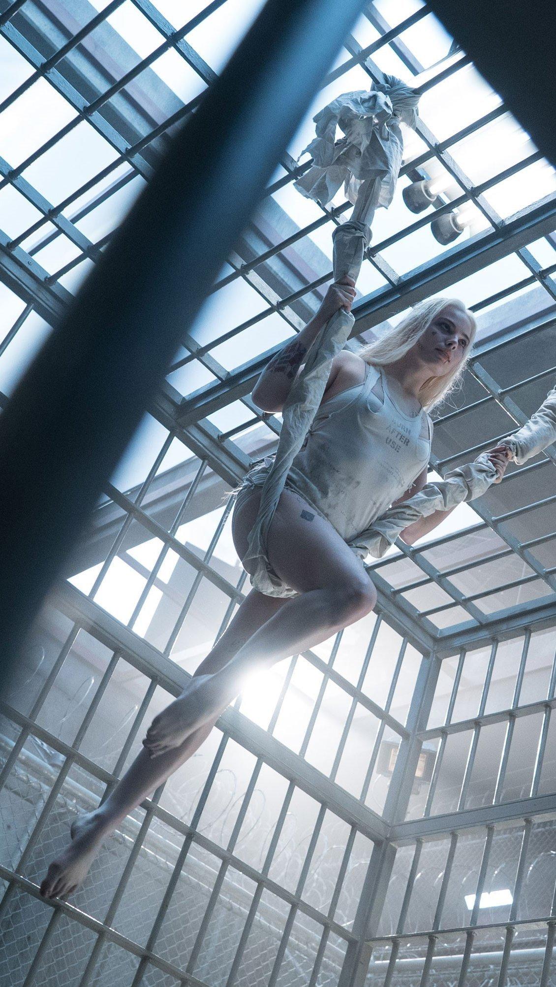 Fondos de pantalla Harley Quinn en prisión Escuadrón suicida Vertical