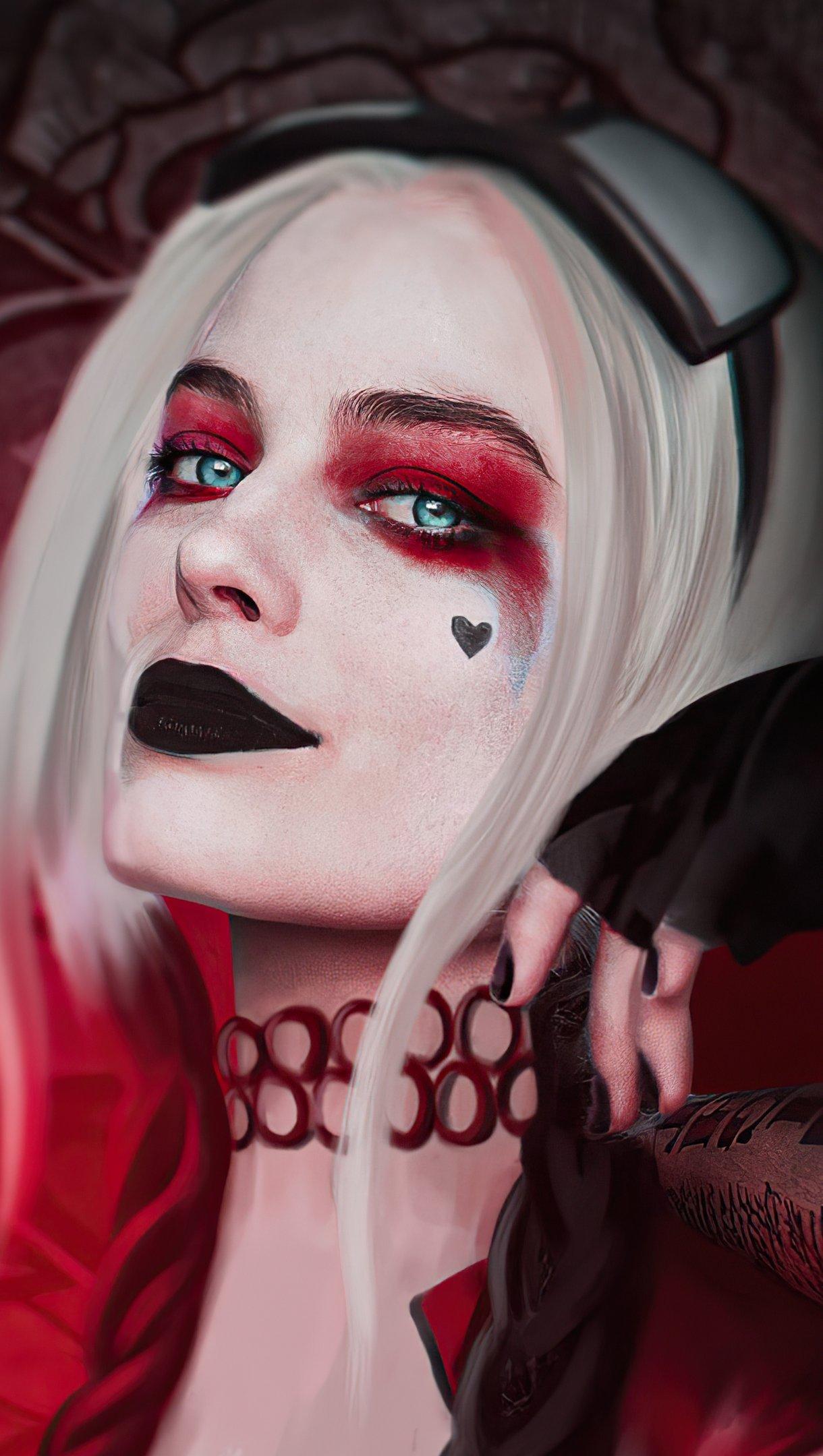 Fondos de pantalla Harley Quinn Margot Robbie Vertical