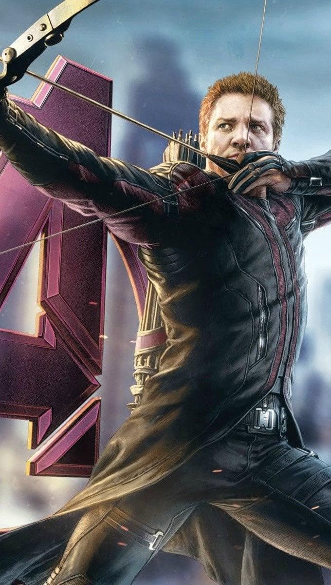 Wallpaper Hawkeye in Avengers Vertical