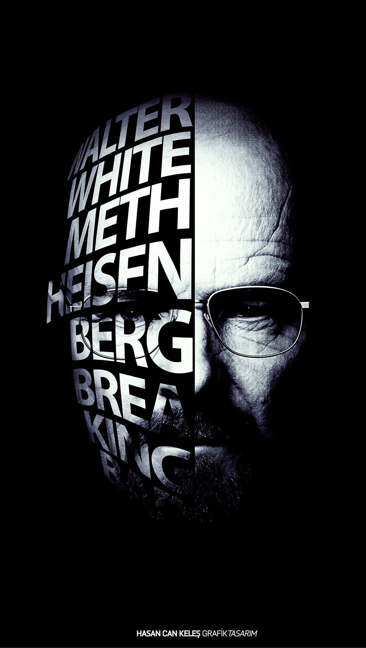 Wallpaper Heisenberg Breaking Bad Vertical