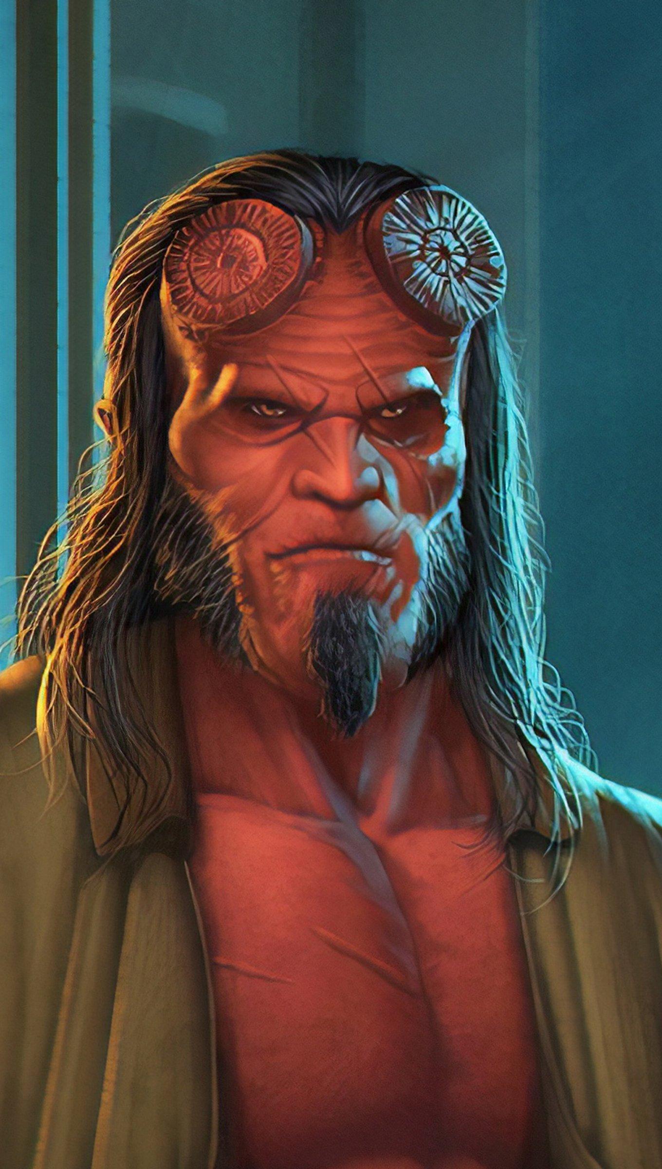 Fondos de pantalla Hellboy Fanart Vertical