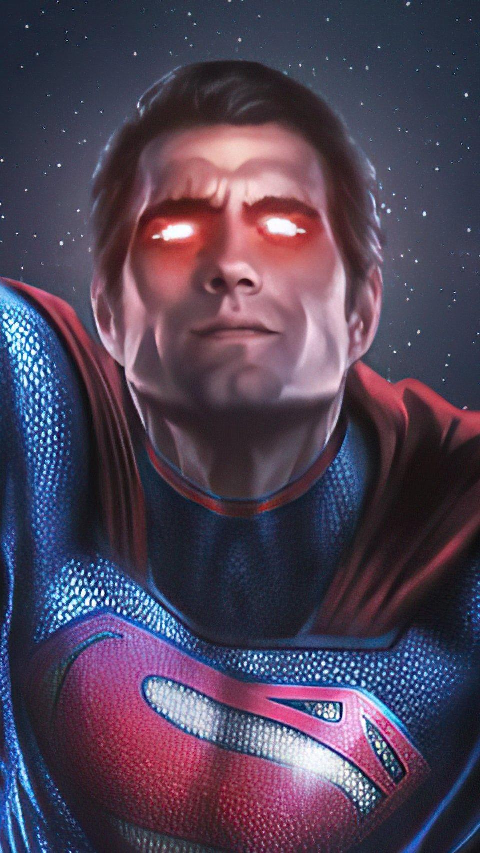 Wallpaper Henry Cavill as Superman 2020 Vertical