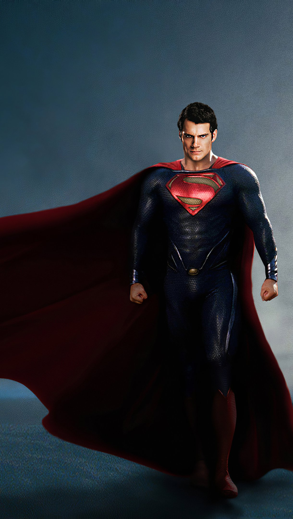 Wallpaper Henry Cavill as Superman Vertical