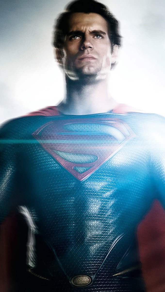 Wallpaper Henry Cavill for The Man of Steel Vertical