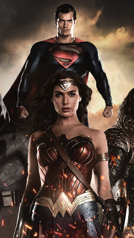 Fondos de pantalla Héroes de la Liga de la Justicia Vertical