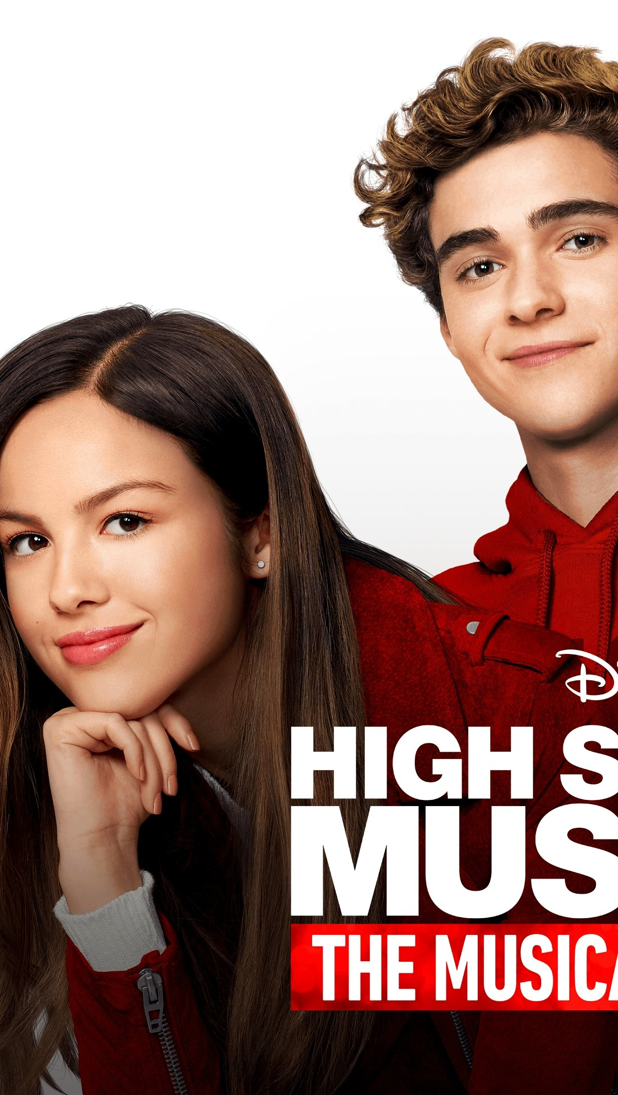 Fondos de pantalla High School musical The musical The series Vertical