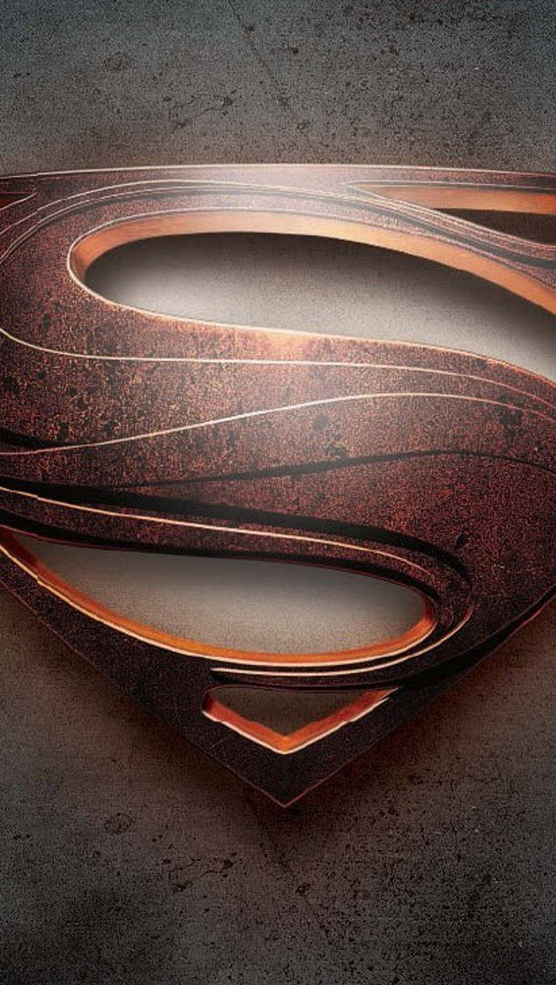 Wallpaper Man of steel Vertical