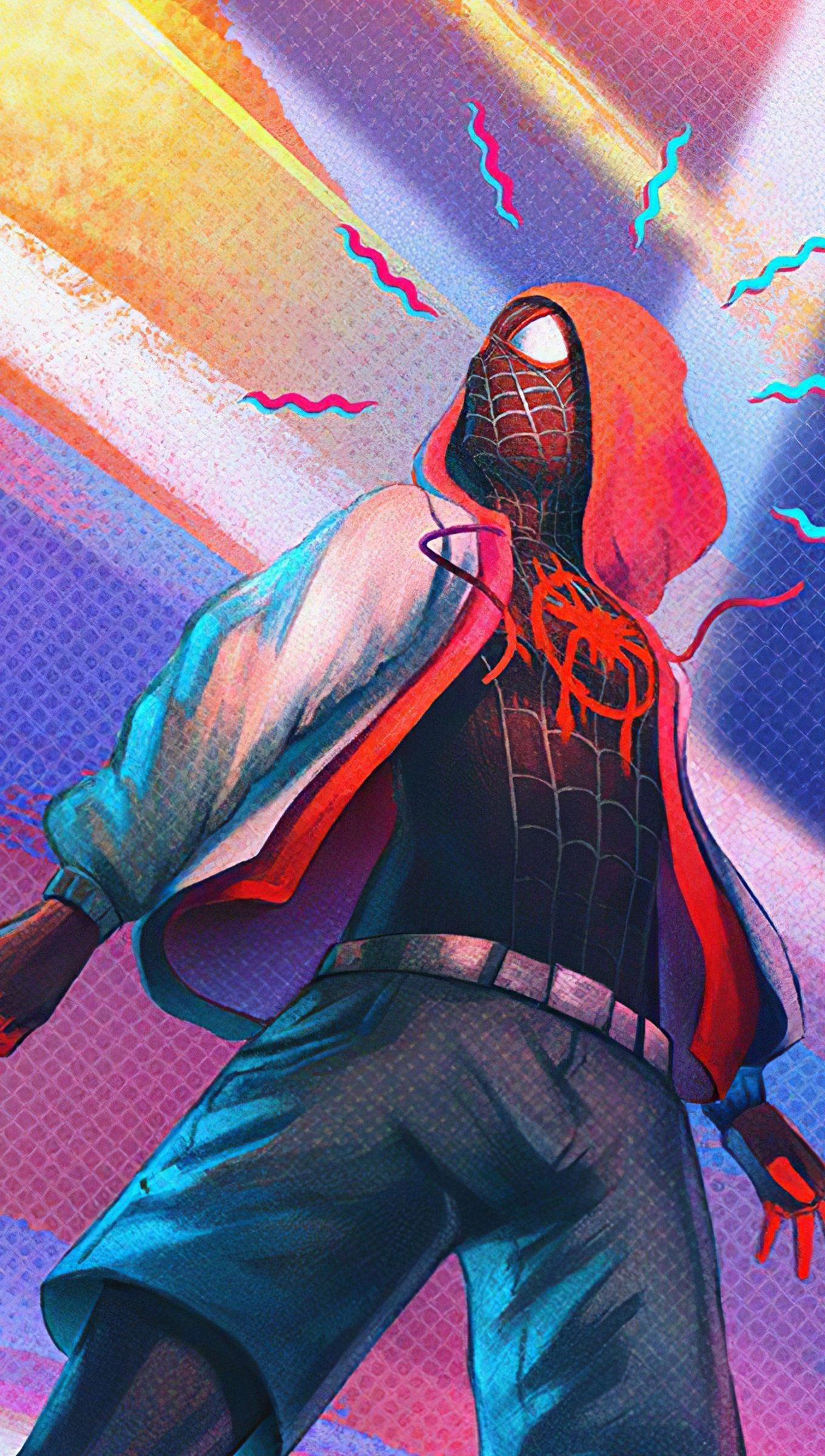 Fondos de pantalla Hombrearaña spiderverse Vertical