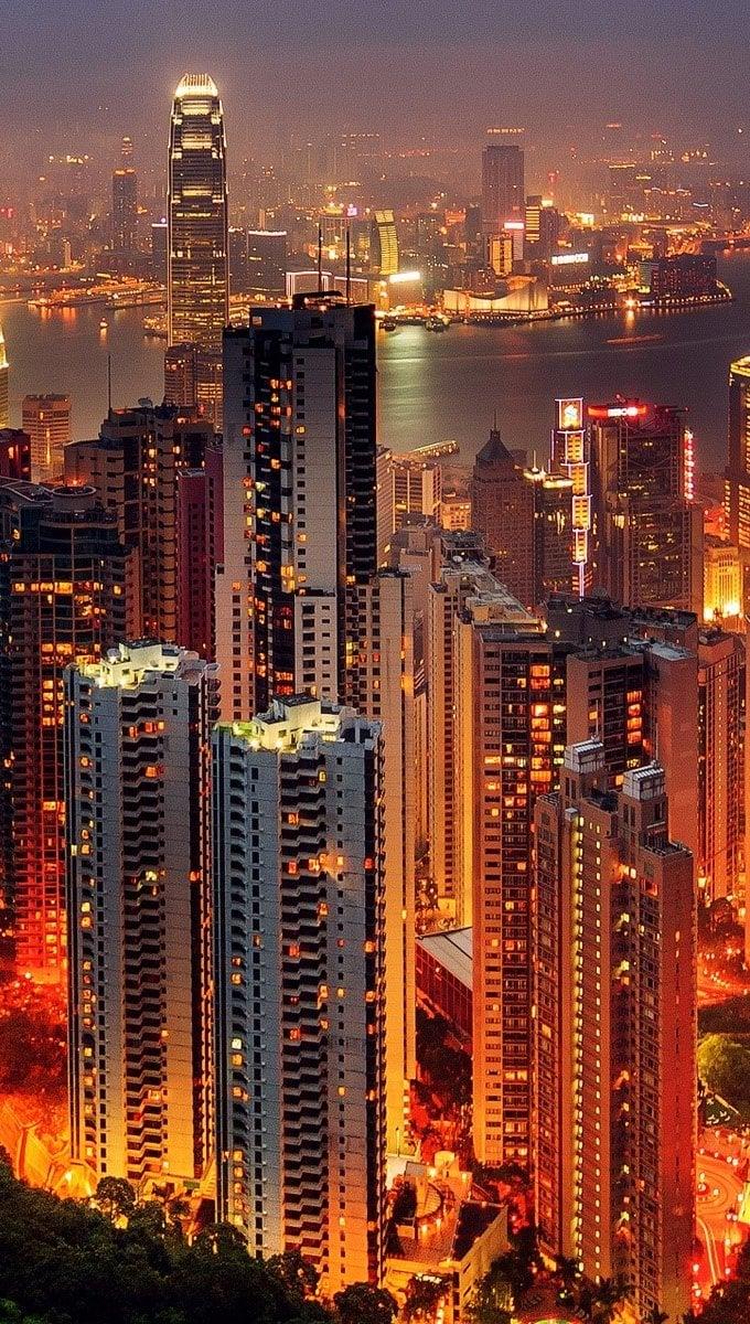 Wallpaper Hong Kong Vertical
