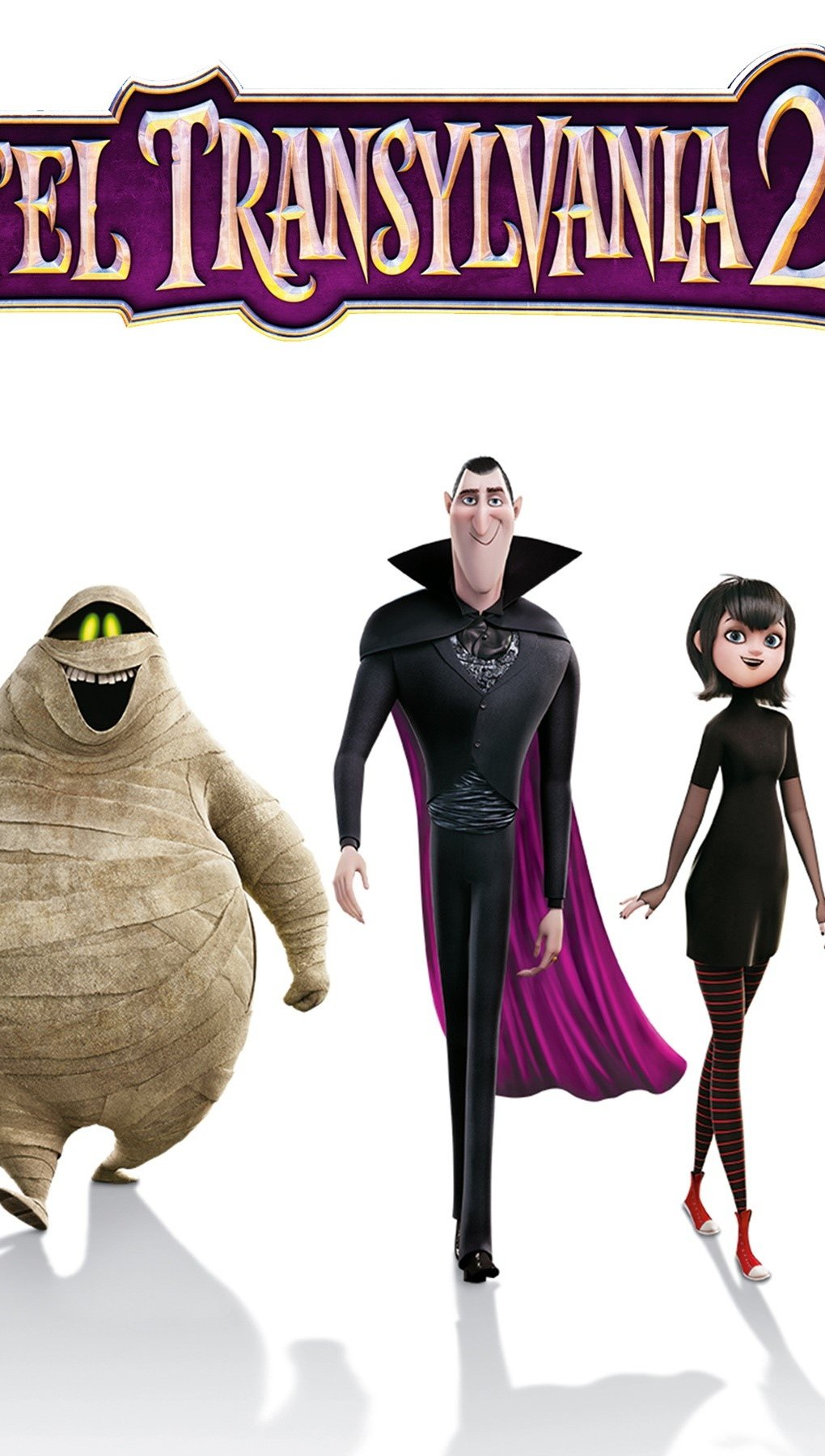 Wallpaper Hotel Transylvania 2 Vertical