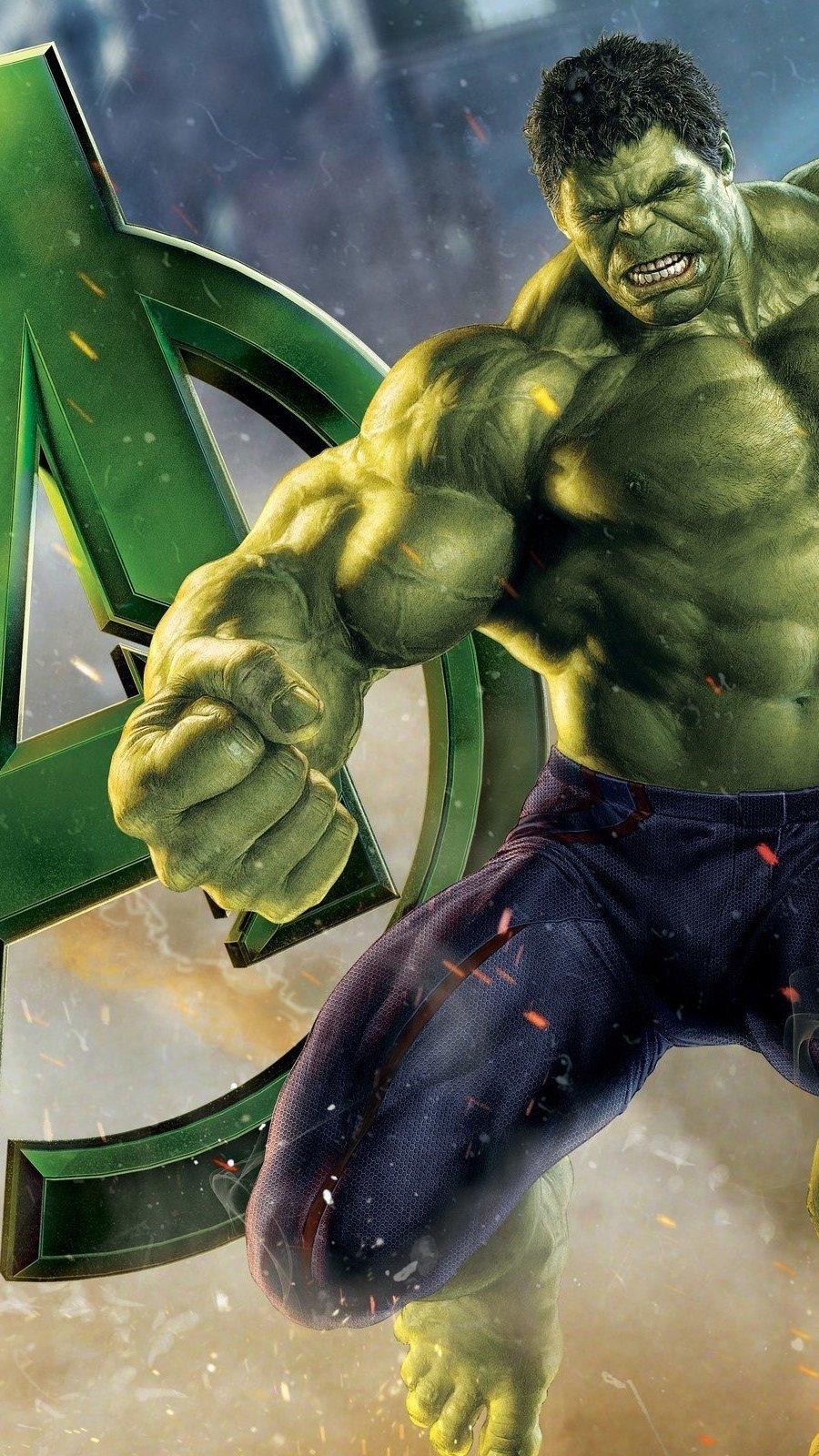 Wallpaper Hulk in Avengers Vertical