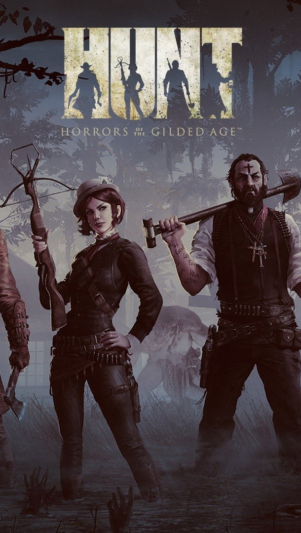 Fondos de pantalla Hunt Horrors of gilded Age Vertical