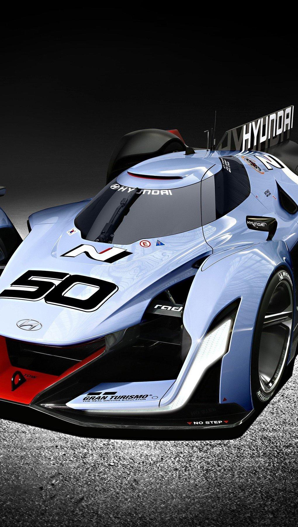 Wallpaper Hyundai N 2025 Vision Gran Turismo Vertical