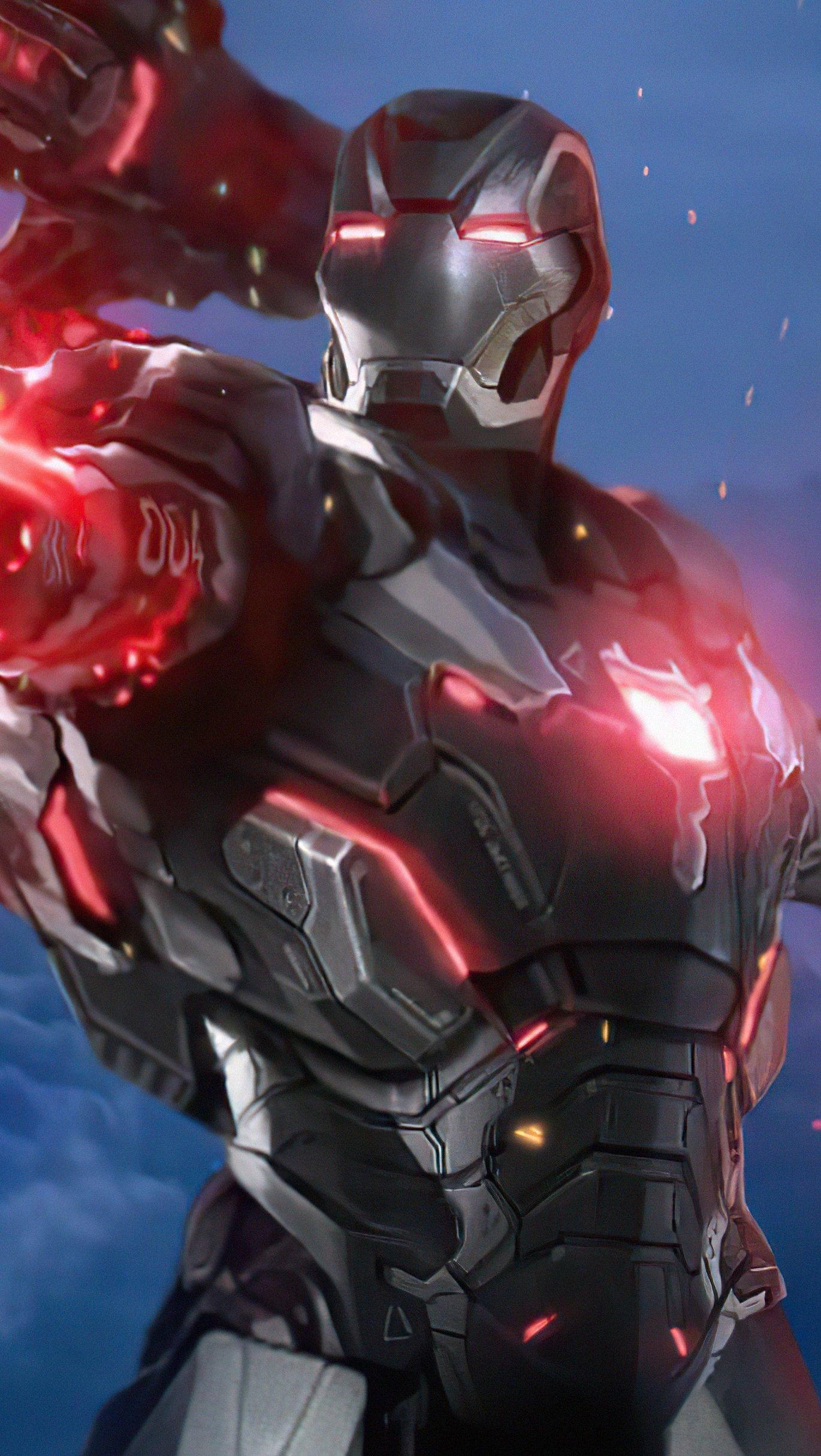 Fondos de pantalla Increíble armadura de Iron Man Vertical