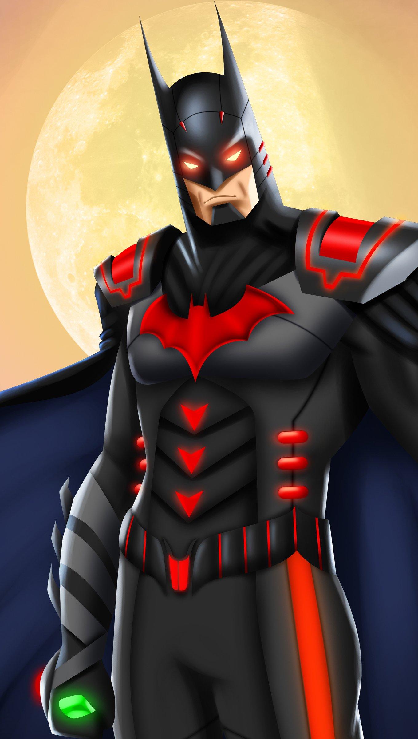 Fondos de pantalla Injustice Regime Batman Vertical
