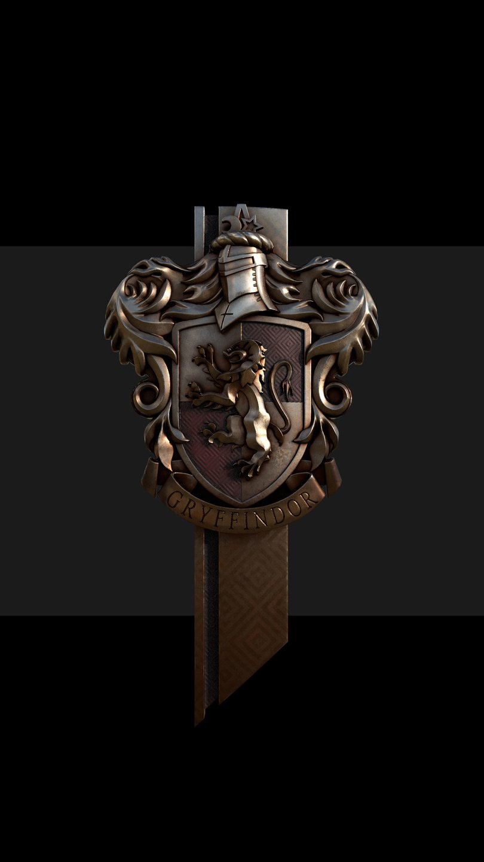 Fondos de pantalla Insignia Gryffindor de Harry Potter Vertical