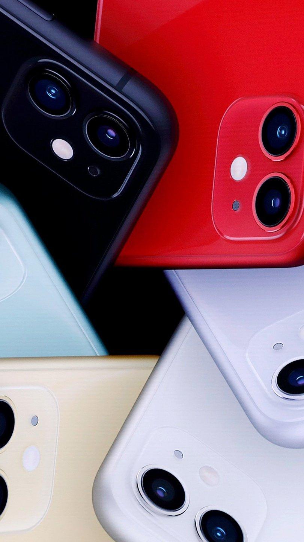 Fondos de pantalla iPhone 11 en todos los colores Vertical