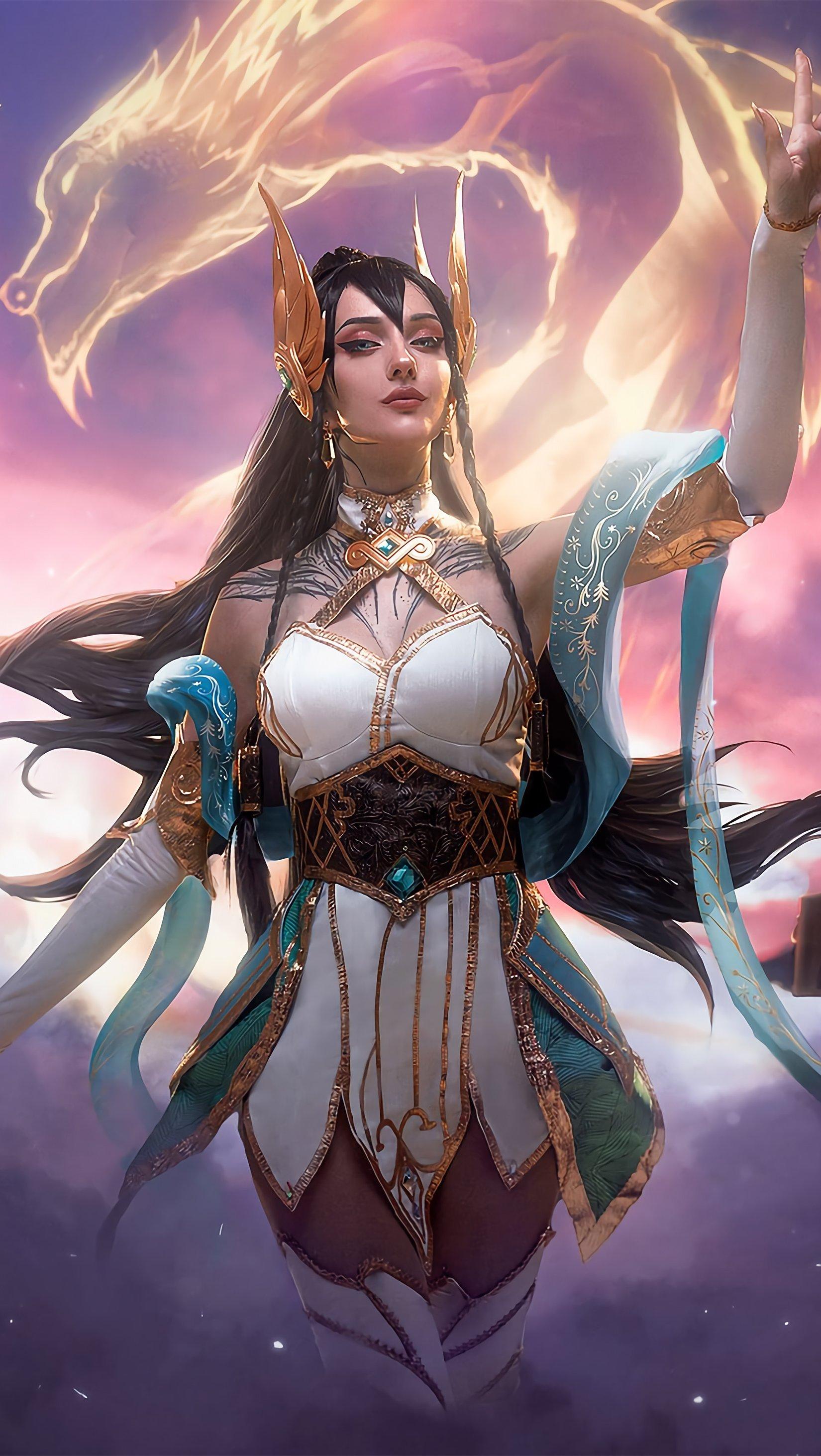 Fondos de pantalla Irelia League of Legends Arte Digital Vertical