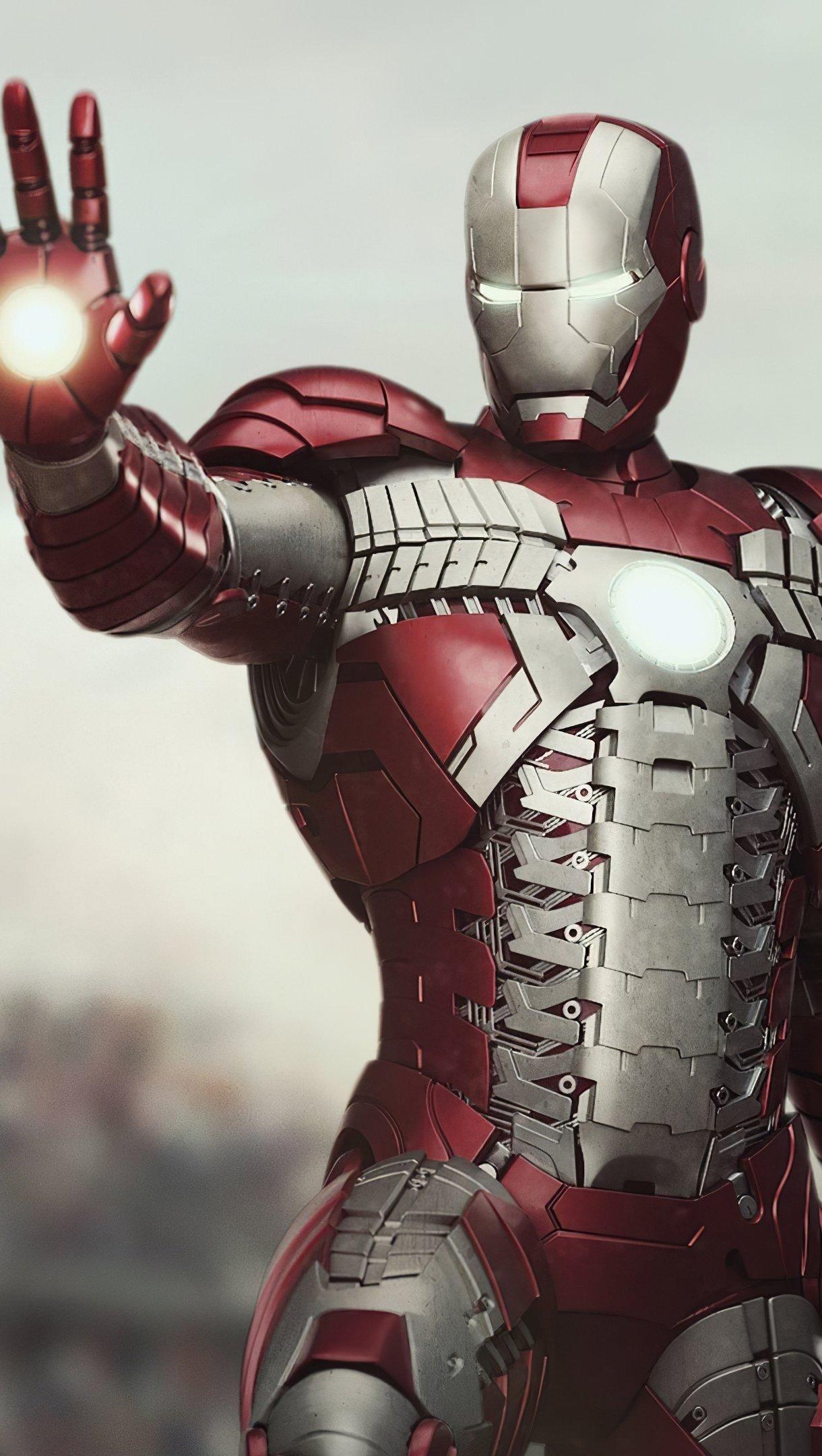 Wallpaper Iron man 2020 Vertical