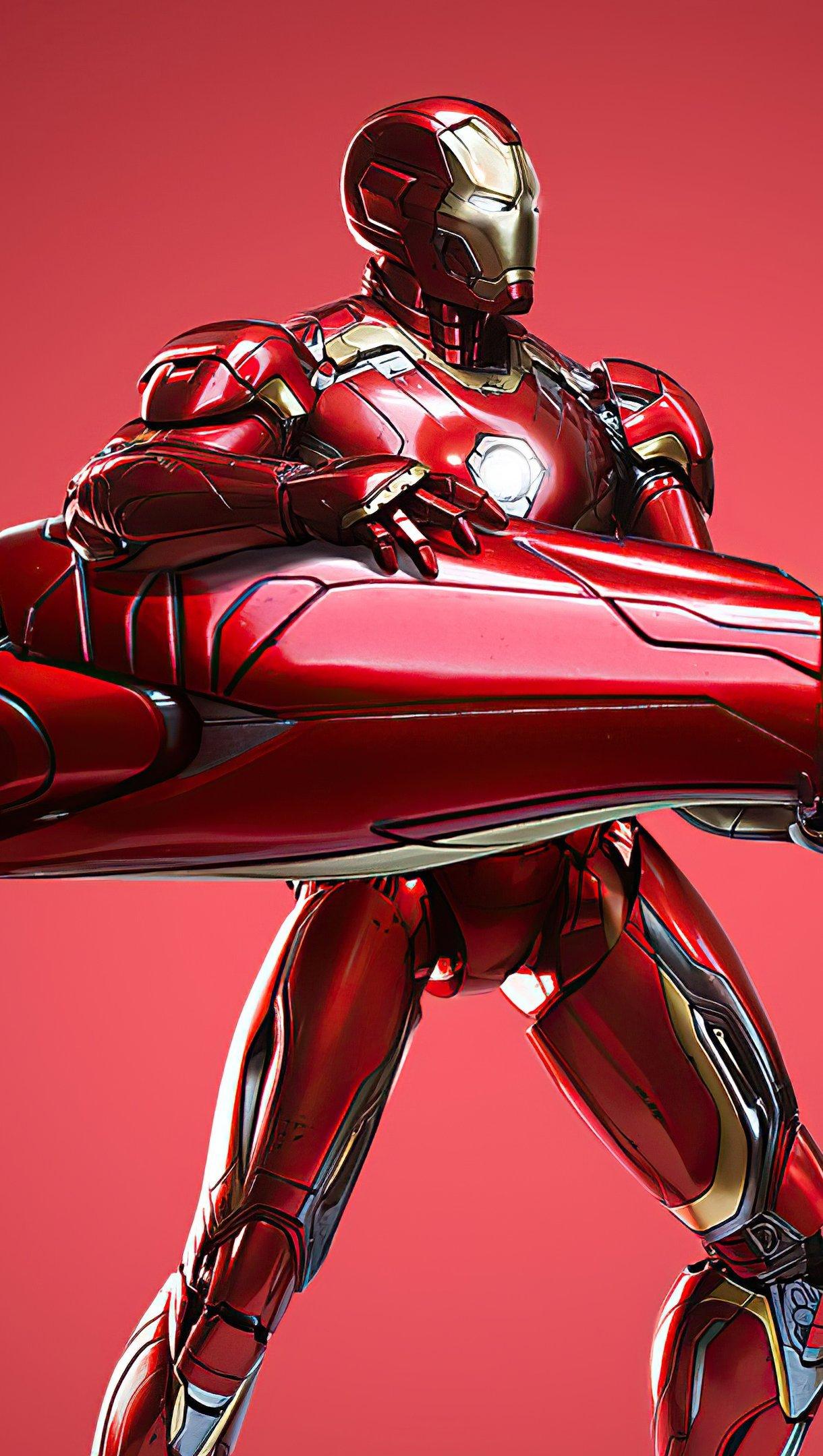 Wallpaper Iron Man 2021 Vertical