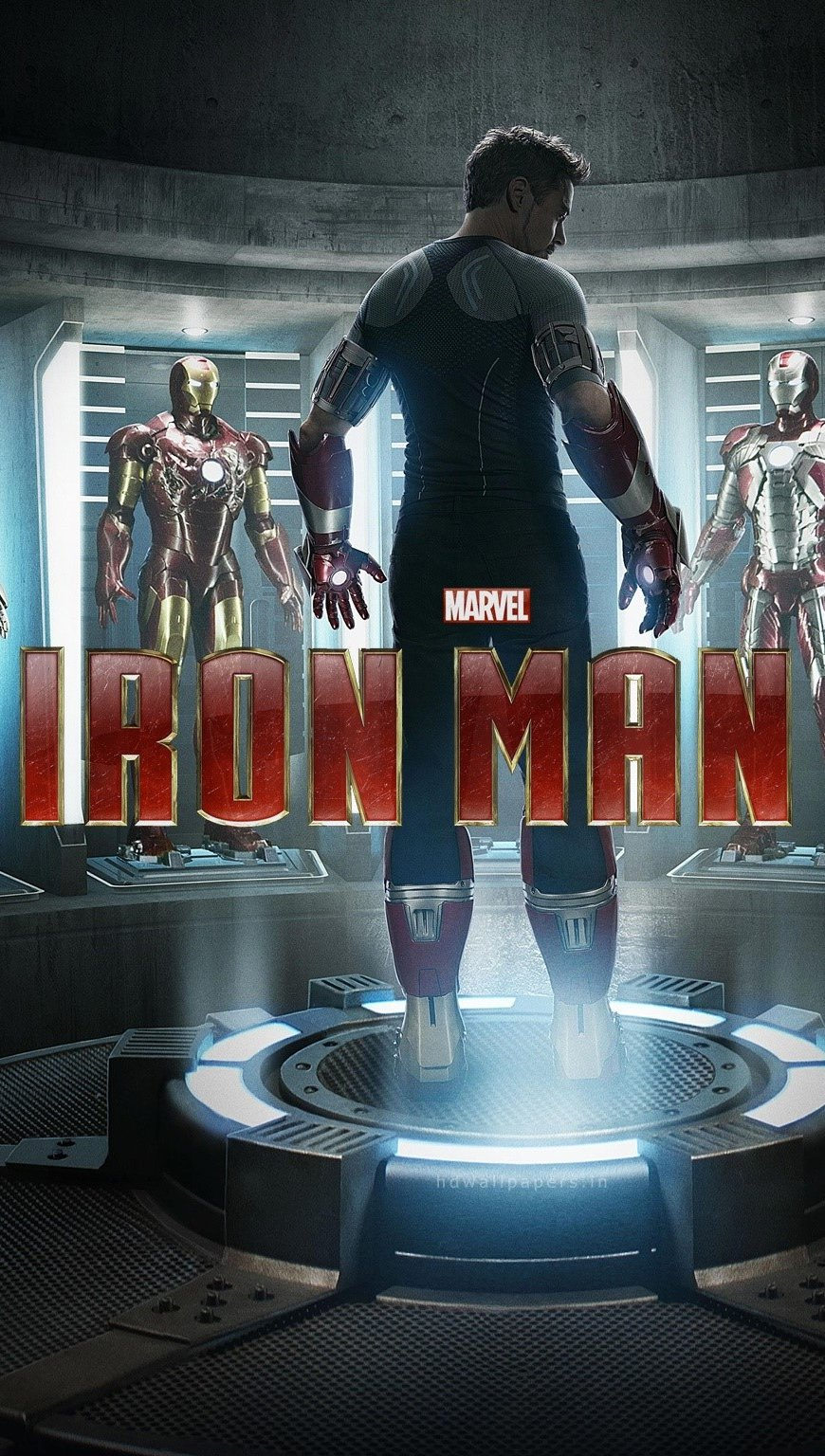 Wallpaper Iron Man 3 Vertical