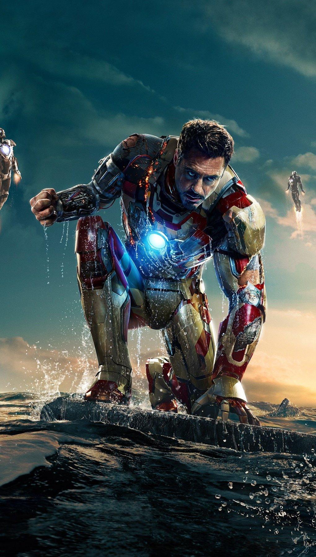 Wallpaper Iron man 3 New Vertical
